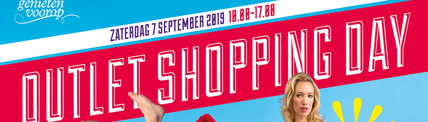 Outlet Shopping Day ook bij Wollstreet in Sittard